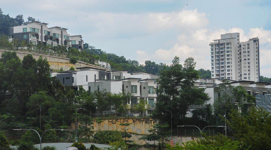 KUALA LUMPUR, February 19, 2018 : New housing area in Kuala Lumpur. (Pic by Afif Abd Halim/TMR)
